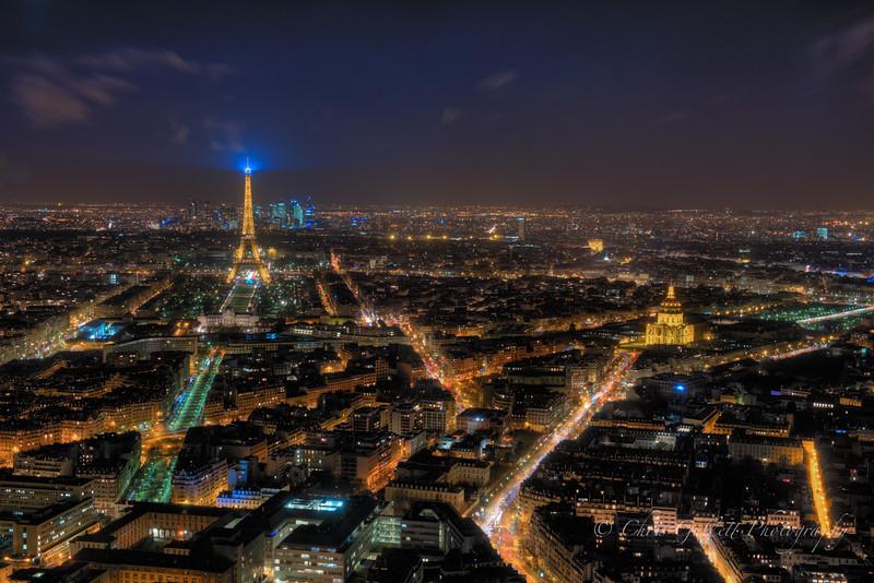 Paris Cityscape 2