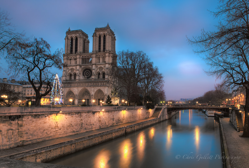 Notre Dame at Dawn