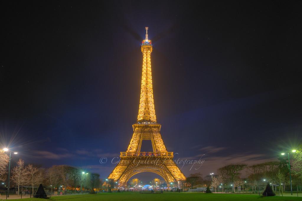 Eiffel Tower Garden and Stars