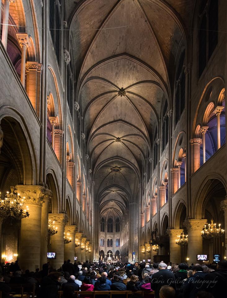 Chrismas Mass at Notre Dame
