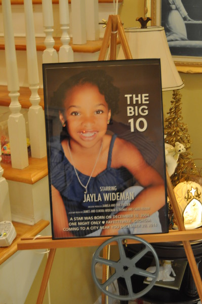 Jayla Wideman's 10th Birthday Party