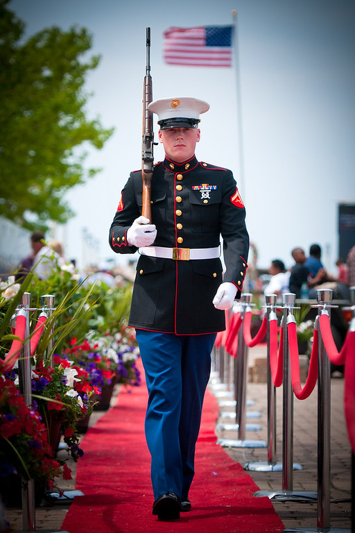 """""""Honor Guard"""" - Traveling Vietnam Wall   Recommended Print sizes*:  4x6  