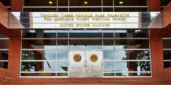 """Through These Portals"" - USMC Recruit Depot, Parris Island   Recommended Print sizes*:  4x8  