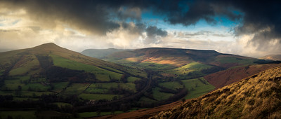 Edale From Win Hill
