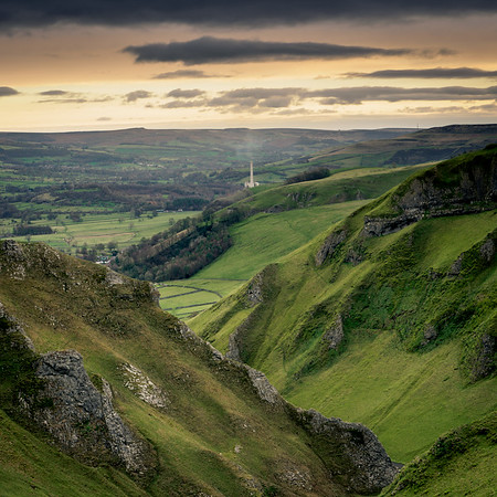 Cement Works from Winnats Pass