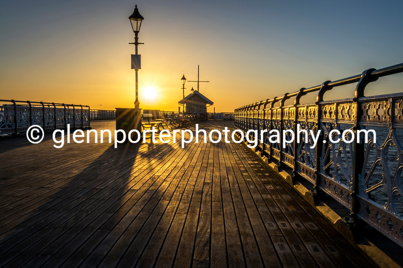 The Pier – an early morning on Penarth Pier.