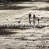 A stroll on Penarth beach - September afternoon, slight sepia tone.