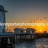 Good morning Penarth – September sunrise, looking at Penarth Pier.