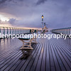 Stormy Reflections – Early November morning on the Pier.