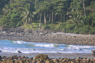 Pristine undisturbed beaches of the Peninsula de Osa in Costa Rica