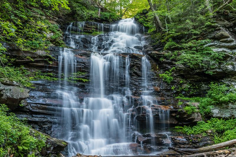 Summer:  Erie Falls