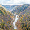 Hazy Pine Creek Gorge
