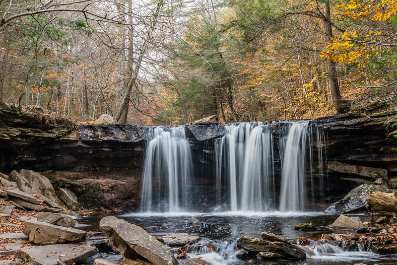 Fall:  Oneida Falls
