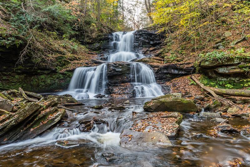 Fall:  Tuscarora Falls