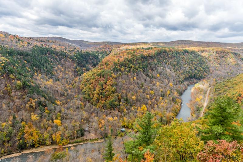 Fall at the Grand Canyon of Pennsylvania