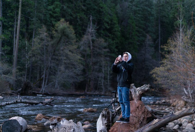 Taylor in Yosemite