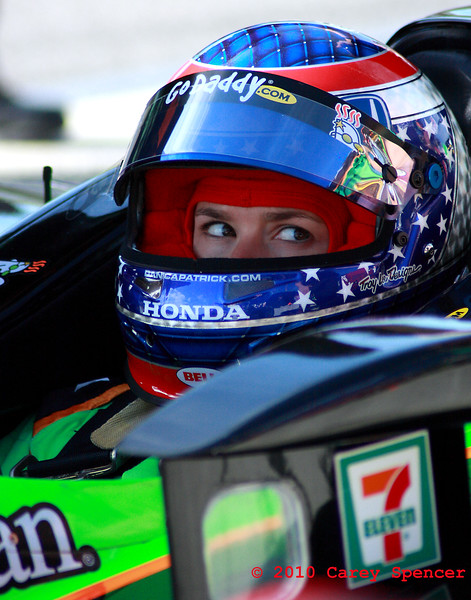 Danica Patrick on pit road at Barber Motorsports Park Alabama Indy Grand Prix of Alabama