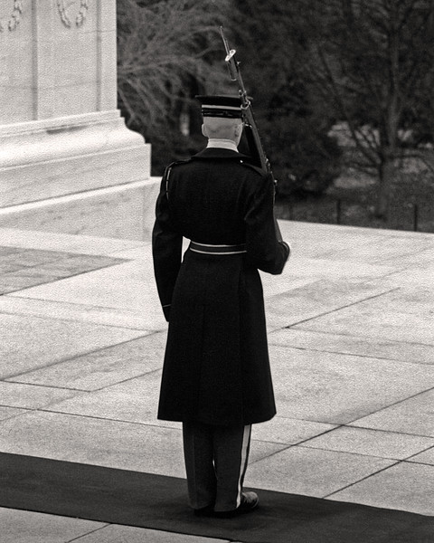 Guard - Tomb of the Unknowns at Arlington National Cemetery