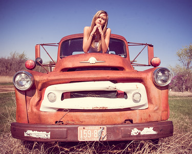 Old Truck Portraits