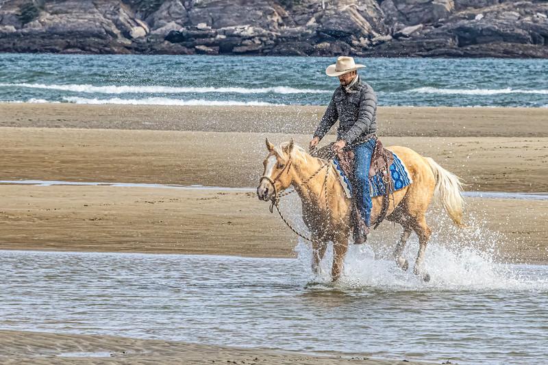 Buckaroo at the Beach
