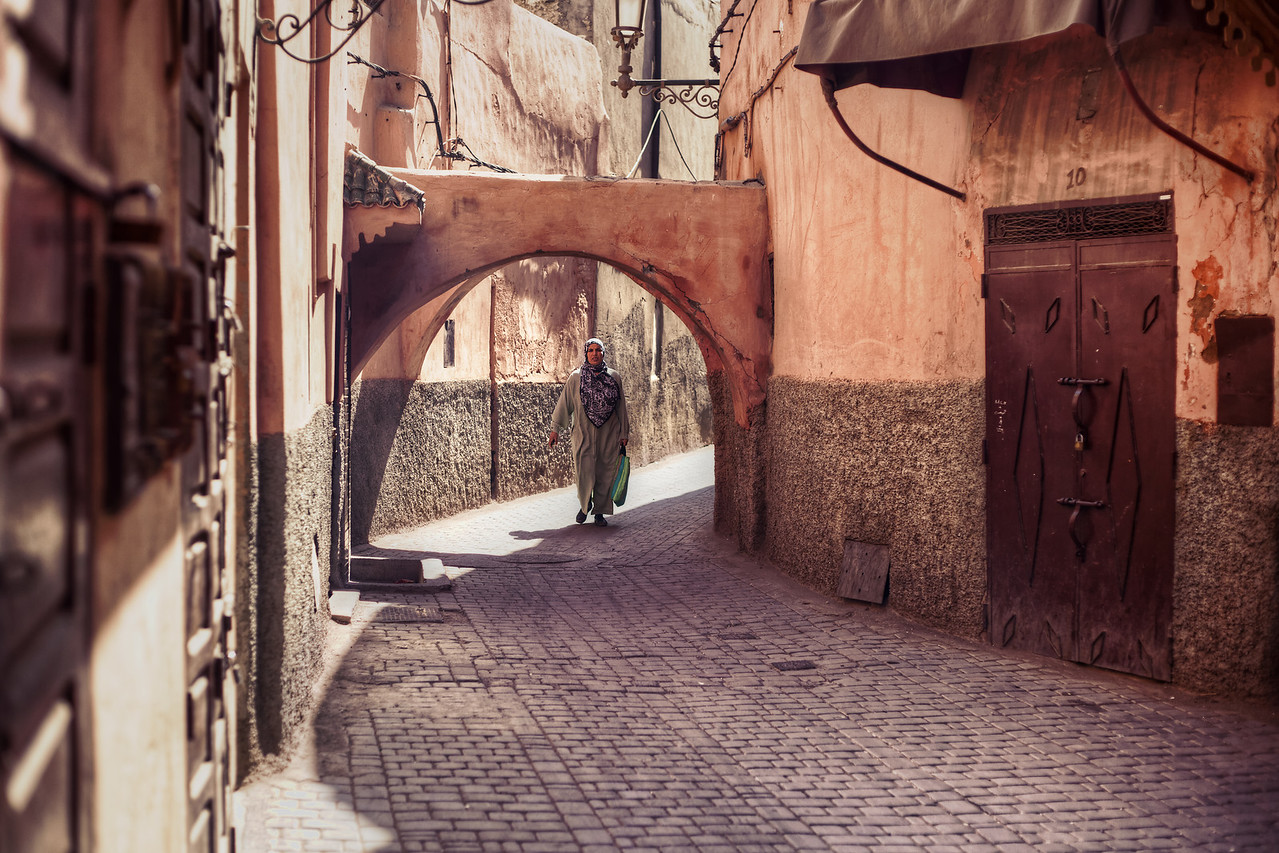 The Streets of Marrakech