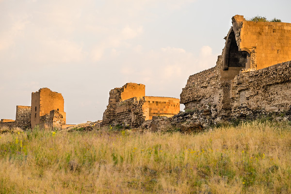 Fortification walls of Ani. Eastern Turkey.
