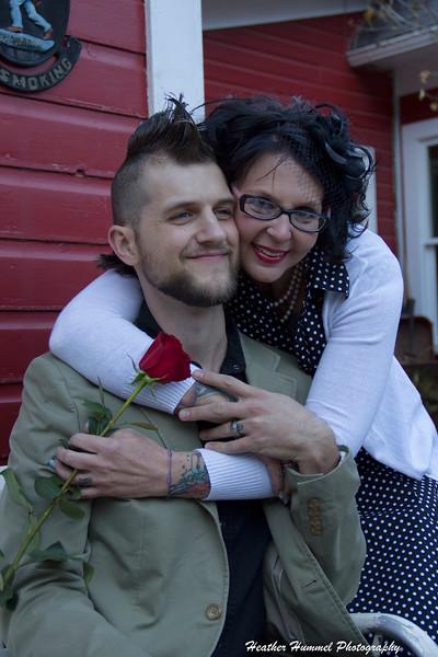 Dawn and Brian