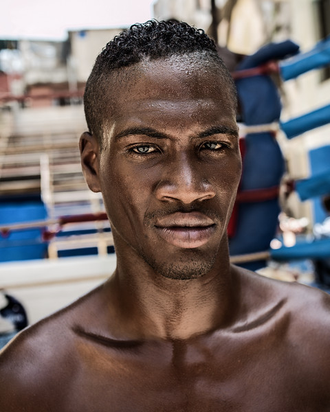 Boxer, Cuban National Boxing Team, Havana
