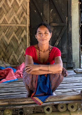Chitradhur Village, Majuli, Assam, India