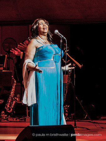 Aretha Franklin in Toronto