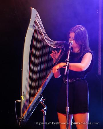 Laura Mvula's Harpist