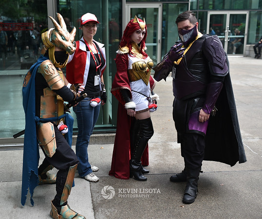 Cosplay at PAX West 2016