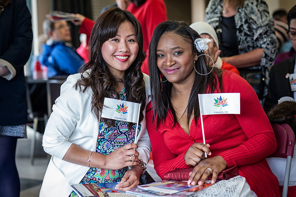 Canadian Citizenship Ceremony with the Institute for Canadian CItizenship