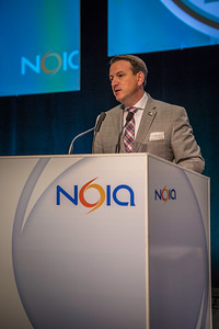 Natural Resources Minister Rickford at the 2014 NOIA Conference St John's Newfoundland