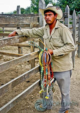 Ranch hand at Rancho Las Prietas (Chiapas, Mexico)