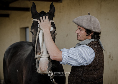 Gaucho and his horse