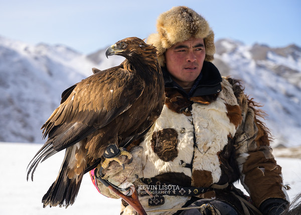 Chinggis and his golden eagle
