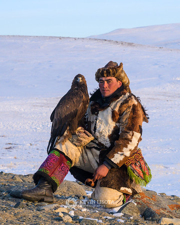 Chingis and his golden eagle
