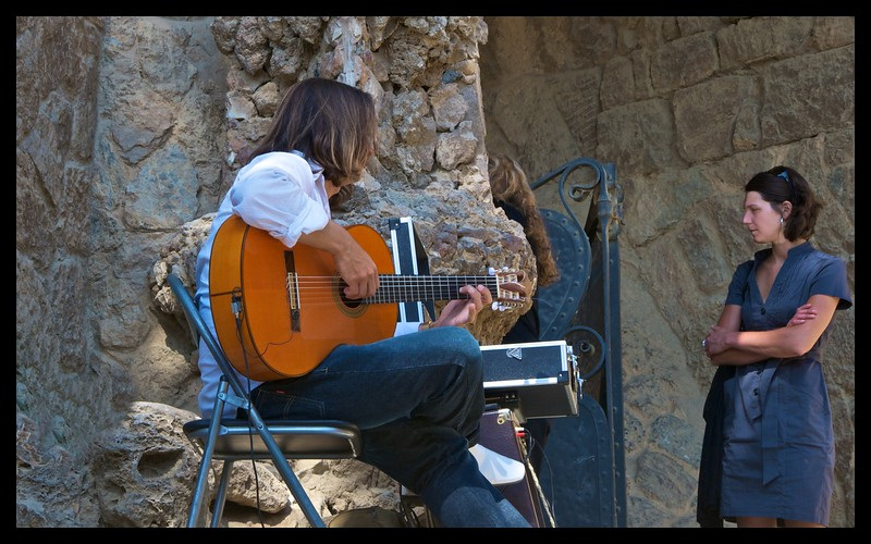 Guitarist and Girl