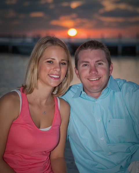 Anna & Dustin, Key Largo, Florida, engagement