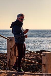 un ami et la mer | a friend and the sea