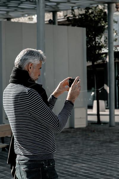 la prise de vue | taking a picture