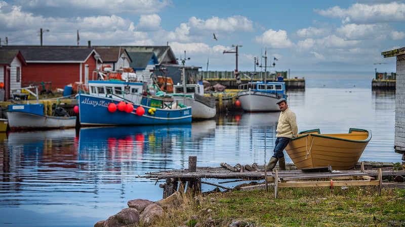 Life in Petty Harbour Newfoundland