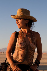 Fellow photographer, Burning Man.