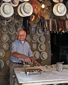 The Hatmaker, Cuenca, Ecuador