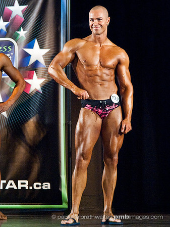 Lucas Couturier: Level 3 - Male - Athletic Fitness Model - 3rd Place; Audience CHOICE Awards - Male - 2nd Place