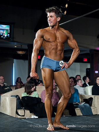 Chris Henderson: Level 1 – Male - Muscular Fitness Model - CHAMPION; Audience CHOICE Awards Winner - Male