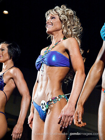 Justine Munro: Level 1 – Female - Athletic Fitness Model -Tall; Audience CHOICE Awards, Female