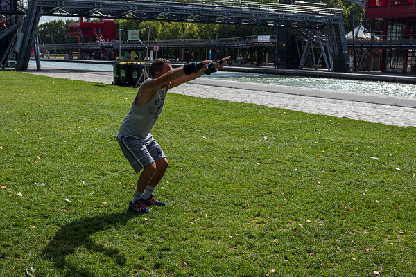 l'homme sportive