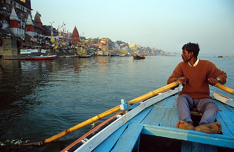 On the Ganges / Varanasi, India